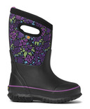Bogs Kids Boot Classic NW Garden Black Multi