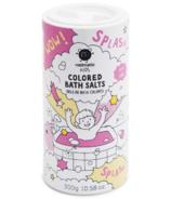 nailmatic Colored Pink Bath Salts