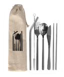 KitchenBasics Cutlery Set & Cotton Bag