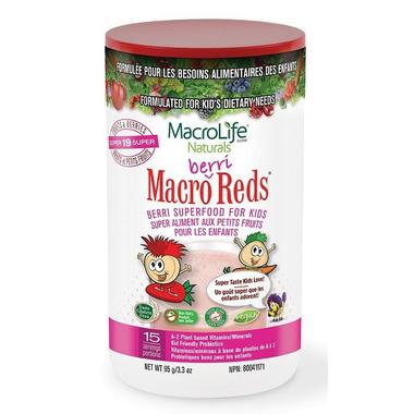 Macrolife Naturals Jr. Macro Berri Reds for Kids