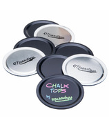 Masontops Chalk Top Blackboard Lids Wide Mouth
