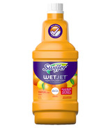Swiffer WetJet Multi-Purpose Floor Cleaner Refill + Febreze Citrus & Zest