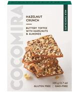 Cocomira Confections Milk Chocolate Hazelnut Crunch