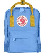 Fjallraven Kanken Mini Backpack Blue & Yellow