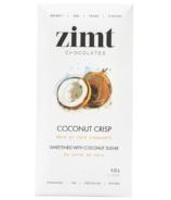 Zimt Chocolates Coconut Crisp Dark Chocolate