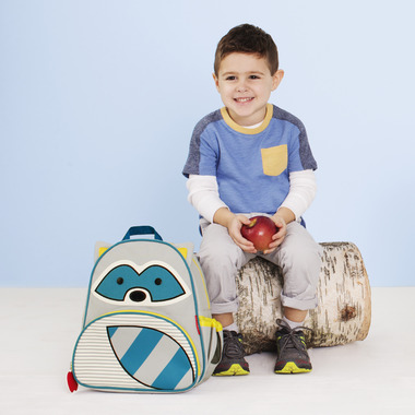Skip Hop Zoo Little Kid Backpack Racoon