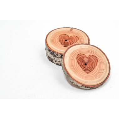 Woodrift and Co Heart West Coasters