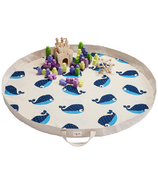 3 Sprouts Play Mat Bag Whale