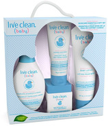 Live Clean Baby Gentle Moisture Skincare Essentials Gift Set