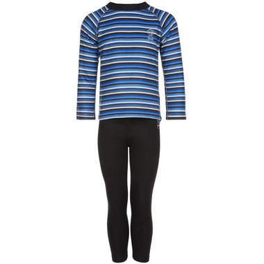 Kombi Body Snuggly Fleece Set Blue Micro Stripe