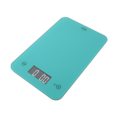American Weigh Scales ONYX Digital Kitchen Scale Turquoise