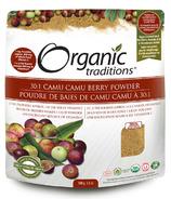 Organic Traditions poudre de baies de Camu Camu