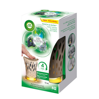 Air Wick Air Freshener Touch & Glow Flameless Candle Forest Waters