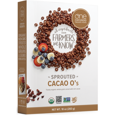 One Degree Cacao O\'s Cereal