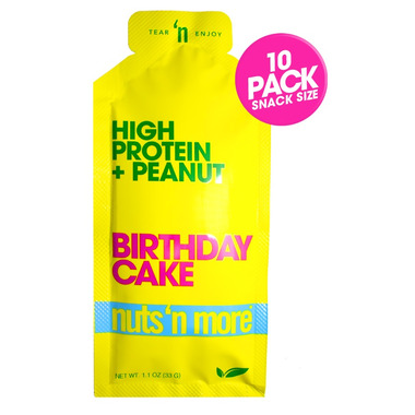 Nuts n More Single Serve High Protein Spread Birthday Cake