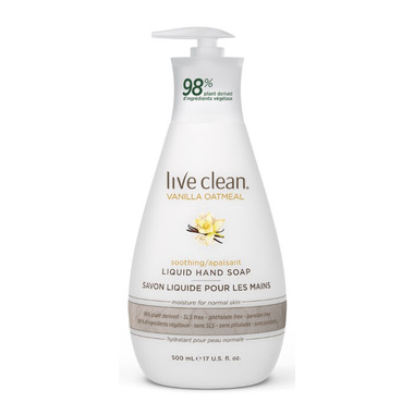 Live Clean Vanilla Oatmeal Soothing Liquid Hand Soap
