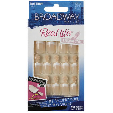 Broadway Nails Real Life French Nail Kit