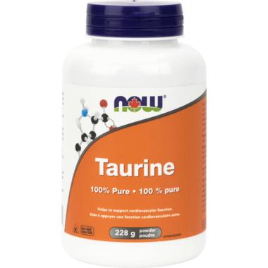 NOW Foods 100% Pure Taurine Powder