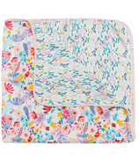 Loulou Lollipop Muslin Quilt Blanket Light Field Flowers