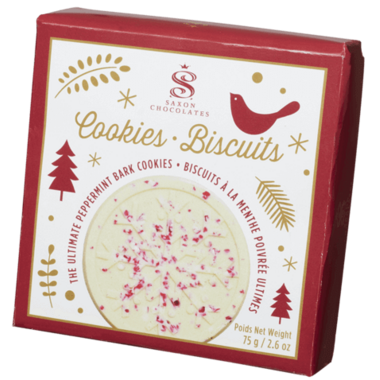 Saxon Chocolates The Ultimate Peppermint Bark Cookies