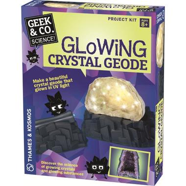 Thames & Kosmos Glowing Crystal Geode