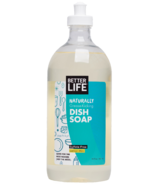 Better Life Dish Soap Lemon Mint