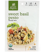 Simply Organic Sweet Basil Pesto Seasoning Mix