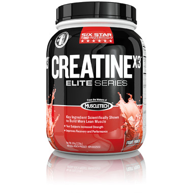 Six Star Pro Nutrition CreatineX3 Fruit Punch