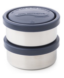 U-Konserve Small Round Stainless Steel Containers in Ocean