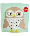 3 Sprouts Sandwich Bags Owl