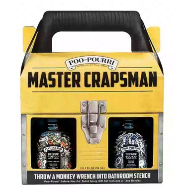 Poo-Pourri Master Crapsman Odor Eliminator Gift Set