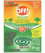 OFF! Backyard Area Mosquito Insect Repellent Coils