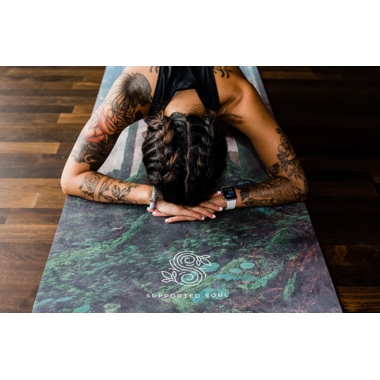 Supported Soul Supreme All-In-One Yoga Mat Guiding Light