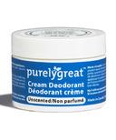 Purelygreat Unscented Cream Deodorant