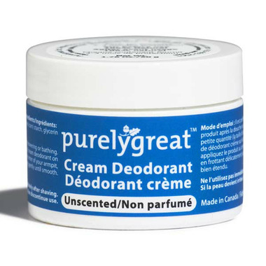 Purelygreat Unscented Cream Deodorant