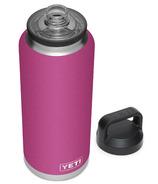YETI Rambler Bottle + Chug Cap Prickly Pear Pink