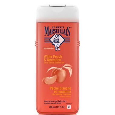Le Petit Marseillais White Peach & Nectarine Extra Gentle Shower Creme