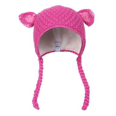 Kombi The Baby Animal Infant Hat Rose Violet