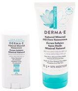 Derma E Facial and Sport Stick Sunscreen Bundle
