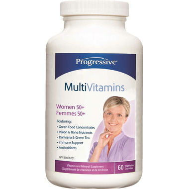 Progressive MultiVitamin for Women 50+
