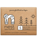nest Natural Plant Based Baby Diaper Size 5