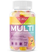 SUKU Vitamins The Complete Kids Multi Plus Fibre