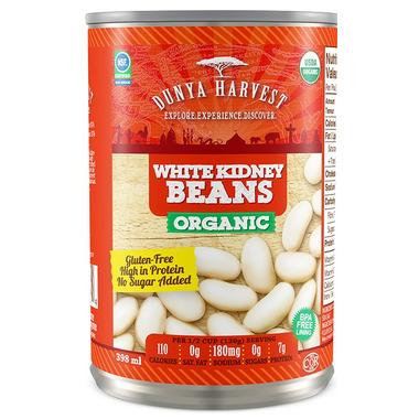 Dunya Harvest Organic White Kidney Beans