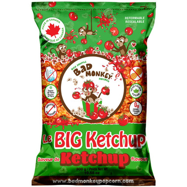 Bad Monkey Popcorn Ketchup Popcorn