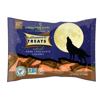 Endangered Species Halloween Treats Natural Chocolate Bars