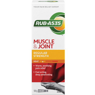 Rub A535 Regular Strength Heating Cream