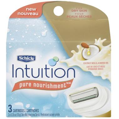 Schick Intuition Pure Nourishment Razor Refills