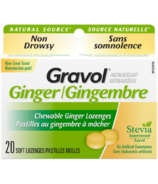 Gravol Natural Source Ginger Lozenges