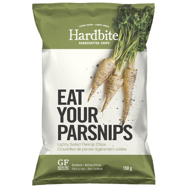 Hardbite Handcrafted Lightly Salted Parsnip Chips