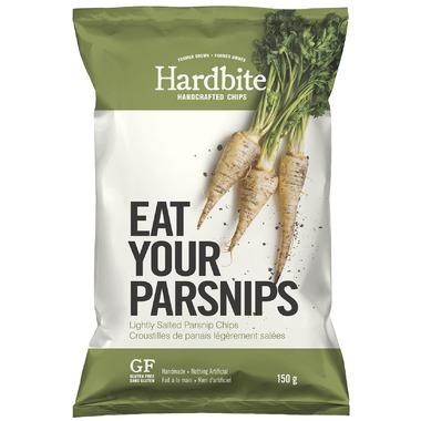 Hardbite Handcrafted Lightly Salted Parsnip Chips